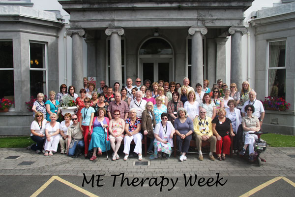 ME Therapy Week 2012 Group Photo